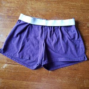 Purple Soft Shorts